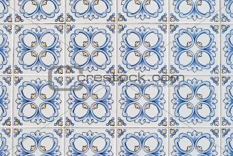 Portuguese glazed tiles 067