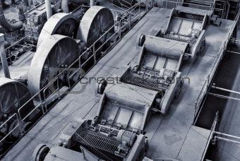 Discard factory interior
