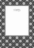 Vector Daisy Pattern and Frame