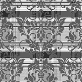 Vector Dark Plaid Pattern