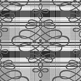 Vector Decorative Plaid Pattern