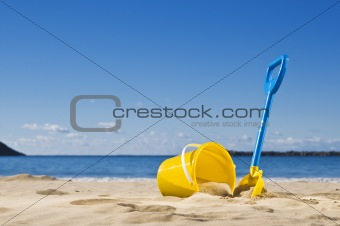 Spade and bucket