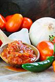 Salsa and Ingredients