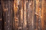 Old richly textured wood background