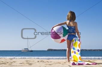 Ball and towel
