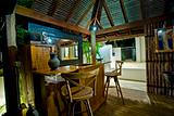 Bali Hut with bar
