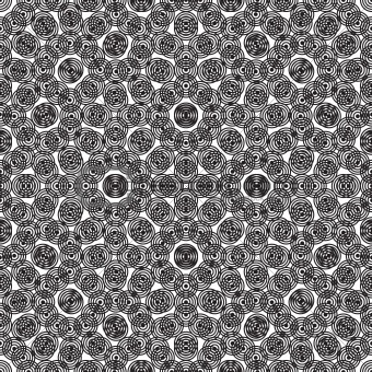 circular seamless repeat abstract