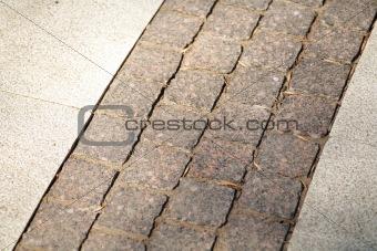 grey pavement