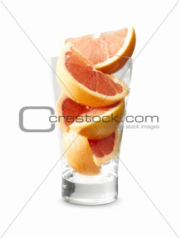 Almost grapefruit juice
