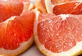 Delicious grapefruit parts