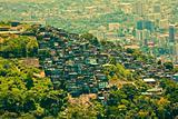 Favela in Rio De Janeiro Brazil