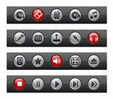 Media & Entertainment // Button Bar Series