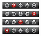 Medicine & Heath care // Button Bar Series