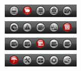 Network & Server  // Button Bar Series