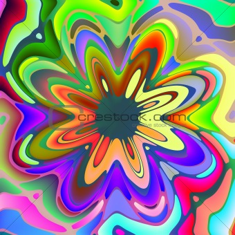 colorful splash