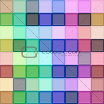 3d colorful blocks pattern