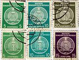 DDR stamps