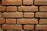 Background of red brick