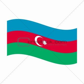 flag of azerbaijan