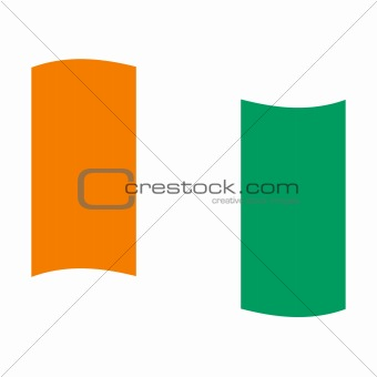 flag of cote ivoire