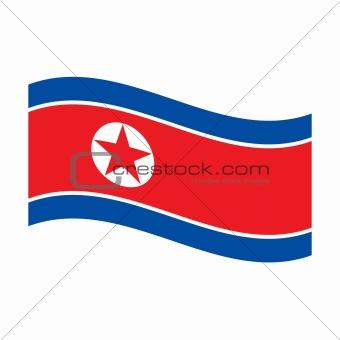 flag of north korea