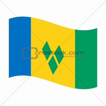 flag of saint vincent and grenadines