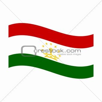 flag of tajikistan