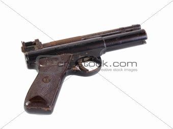 Old hand gun.