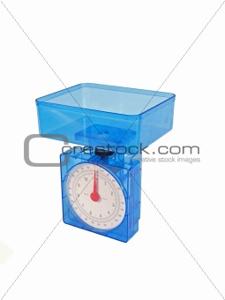 Food weighing scales.