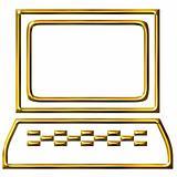 3D Golden Computer