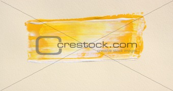 Abstract brush line