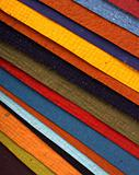 Handmade color papers for background