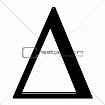 3D Greek Letter Delta