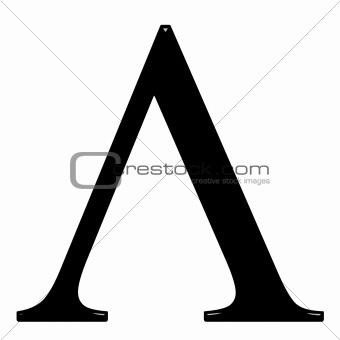 3D Greek Letter Lambda