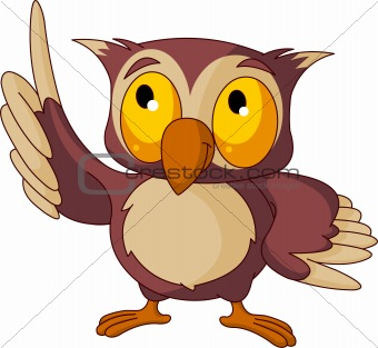 image 2821294 wise owl from crestock stock photos rh crestock com Animated Owls Owl Coloring Pages