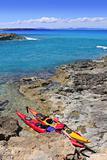 Escalo Formentera kayak mediterranean sea