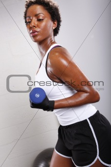 African american workout