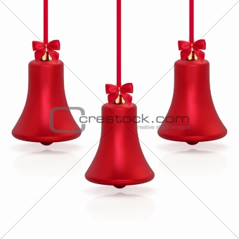 Christmas Bell Shaped Baubles