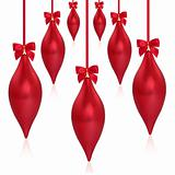Christmas Droplet Decorations