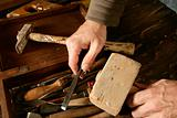 craftman carpenter hand tools artist