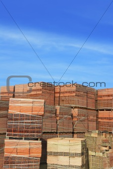 clay red tiles stock pattern texture construction