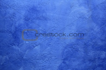 grunge blue painted wall texture background
