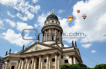 Church in Gendarmenmarkt square, Berlin