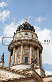 Church in Gendarmenmarkt square, Berlin