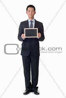 blank blackboard,