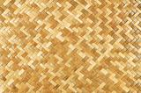 Weaved rattan mat