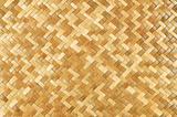 Weaved rattan mat
