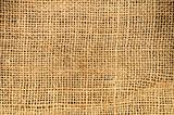 Brown gunny sack background