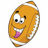 Cartoon football