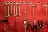 red metal board to classified tools